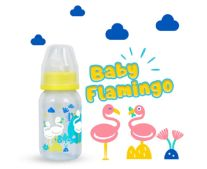 BOTOL PP SP ROUND 120 ML FLAMINGO